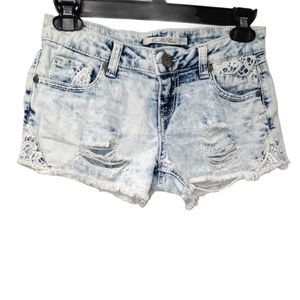 Vanilla Star Acid Wash jean shorts size 3